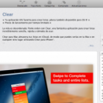 Clear para Mac y iPhone
