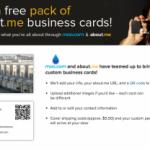 About.me, o tu tarjeta de visita digital (II)