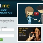 About.me, o tu tarjeta de visita digital (I)