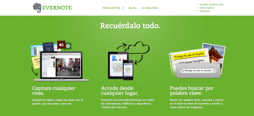 Evernote - Web