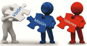 vision, mision, valores
