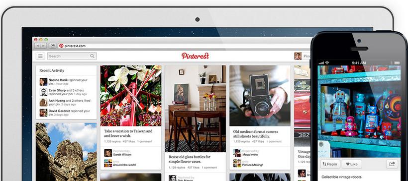 Pinterest - Contenidos