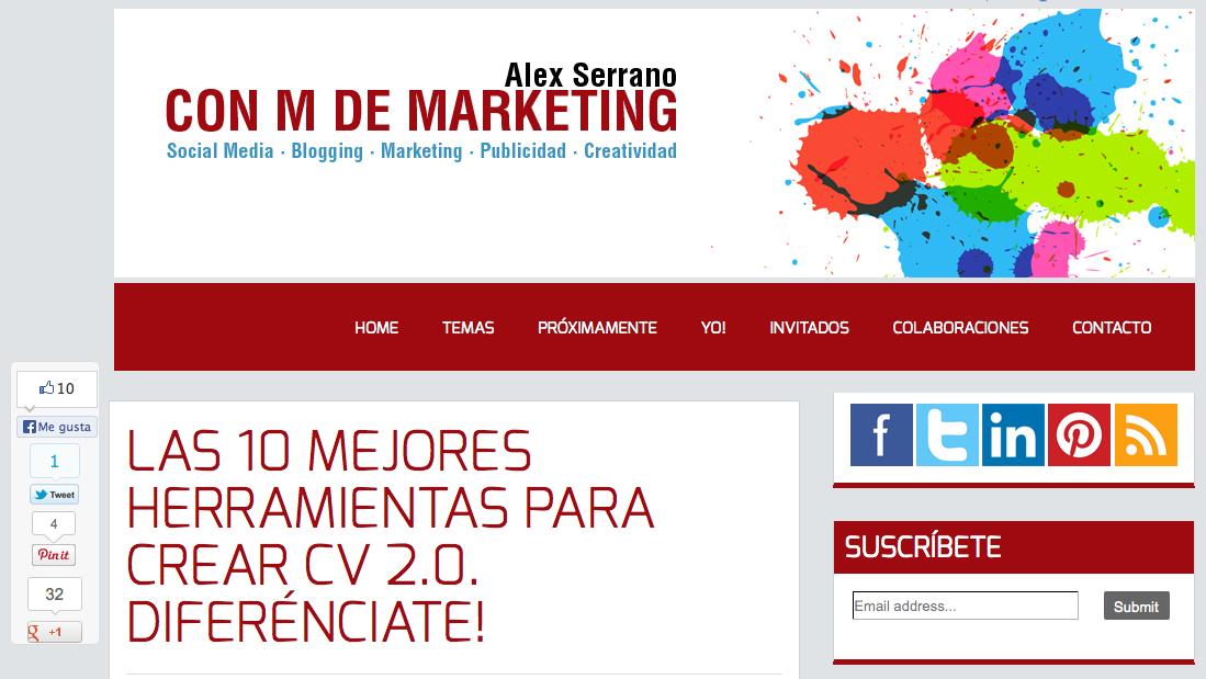 Alex Serrano - Con M de Marketing
