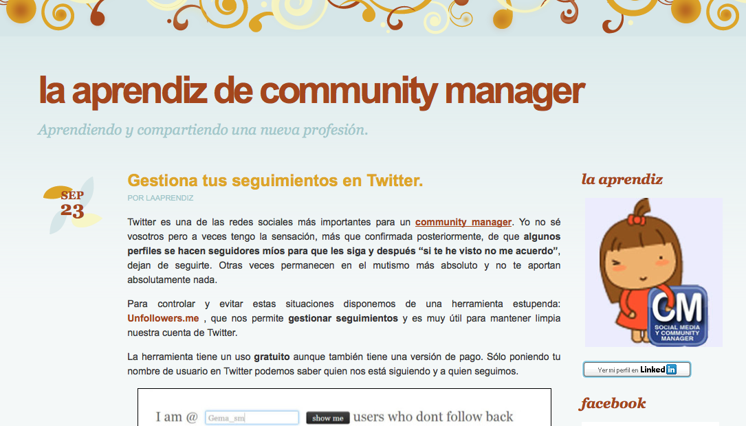 Aprendiz de Community Manager