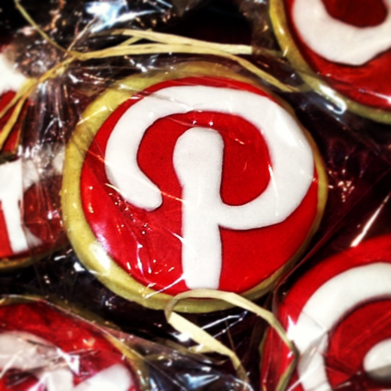 Pinterest Logo Galleta