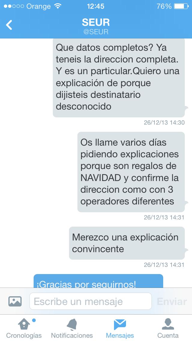 2n DM - SEUR ineptos
