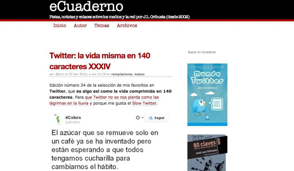 Jose luis orihuela blog