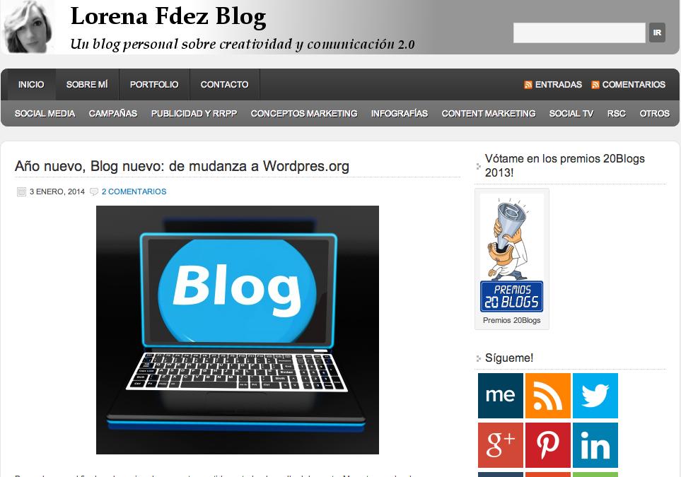 Lorena Fernández blog